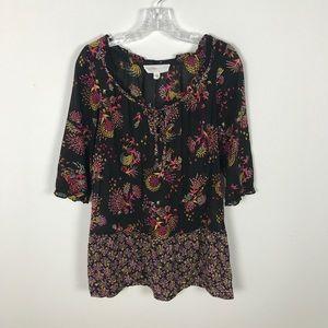 Anthropologie | Lilka Dress Size Small Black Sheer